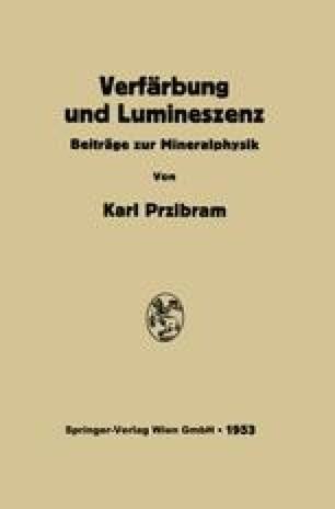 Verfärbung und Lumineszenz