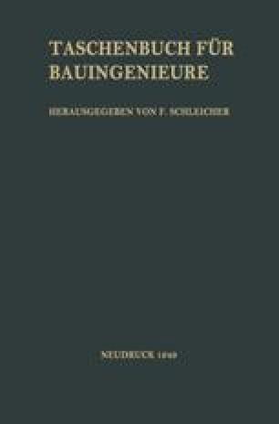 Taschenbuch für Bauingenieure