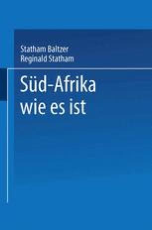 Süd-Afrika wie es ist