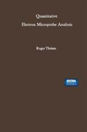Quantitative Electron Microprobe Analysis