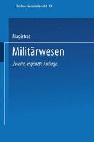 Militärwesen