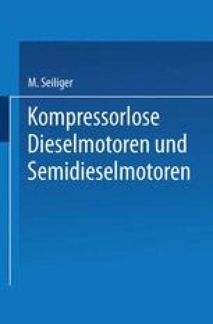 Kompressorlose Dieselmotoren und Semidieselmotoren