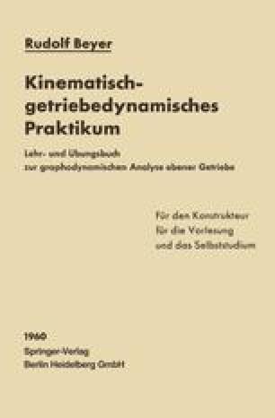 Kinematisch-getriebedynamisches Praktikum