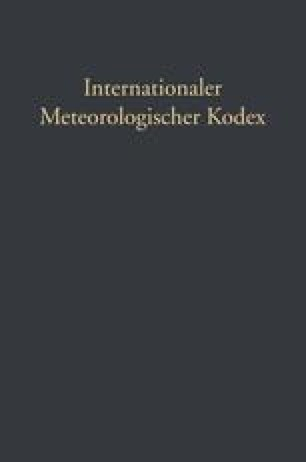 Internationaler Meteorologischer Kodex