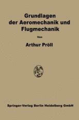 Grundlagen der Aeromechanik und Flugmechanik