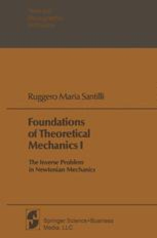 Foundations of Theoretical Mechanics I