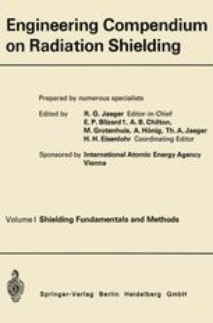Engineering Compendium on Radiation Shielding