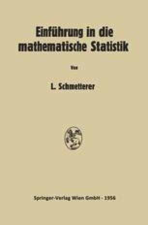 Einführung in die Mathematische Statistik
