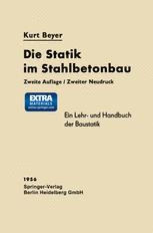 Die Statik im Stahlbetonbau