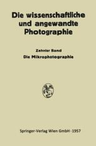 Die Mikrophotographie