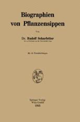 Biographien von Pflanzensippen