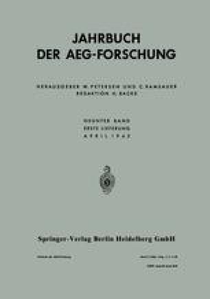 Jahrbuch der AEG-Forschung