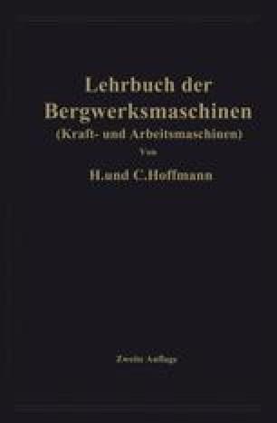 Lehrbuch der Bergwerksmaschinen