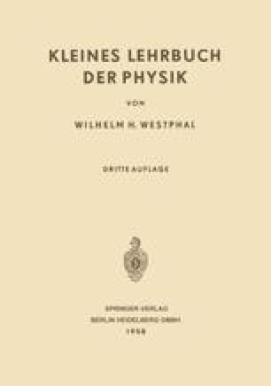 Kleines Lehrbuch der Physik