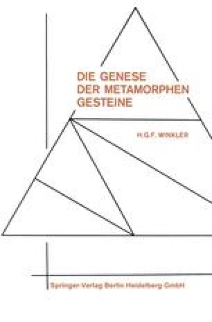 Die Genese der metamorphen Gesteine