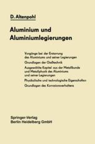 Aluminium und Aluminiumlegierungen