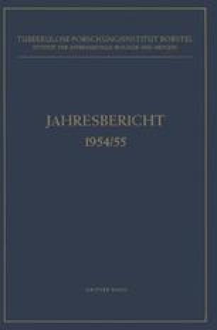 Jahresbericht 1954/55