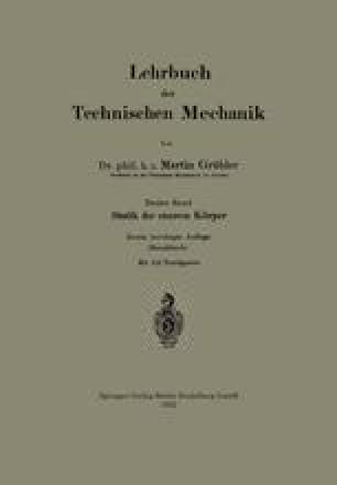 Lehrbuch der Technischen Mechanik