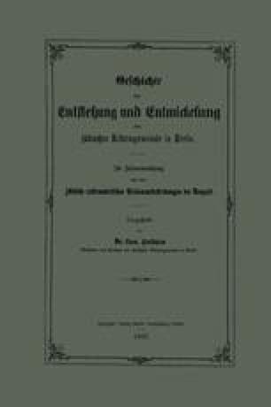 Geschichte der Entstehung und Entwickelung der jüdischen Reformgemeinde in Berlin