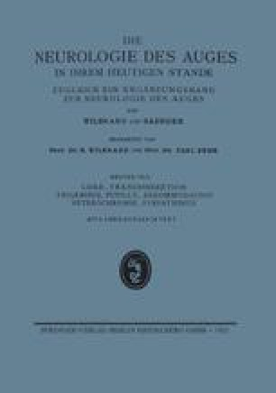 Lider-, Tränensekretion Trigeminus, Pupile, Akkommodation Heterochromie, Sympathikus