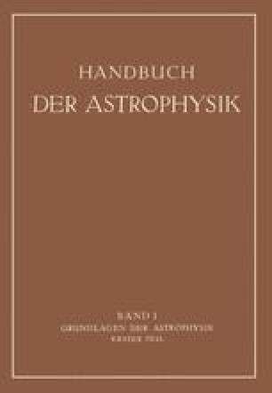 Grundlagen der Astrophysik