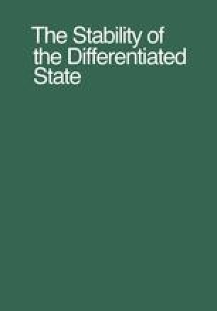 The Stability of the Differentiated State