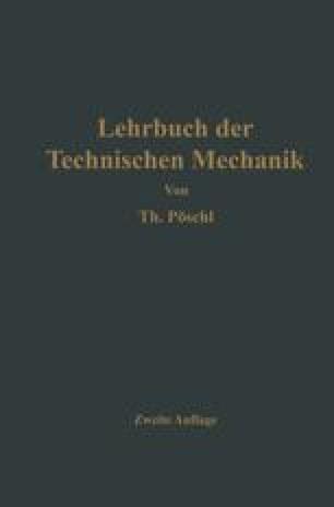 Lehrbuch der Technischen Mechanik für Ingenieure und Physiker