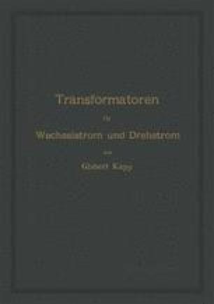 Transformatoren für Wechselstrom und Drehstrom