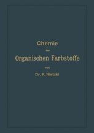 Chemie der Organischen Farbstoffe