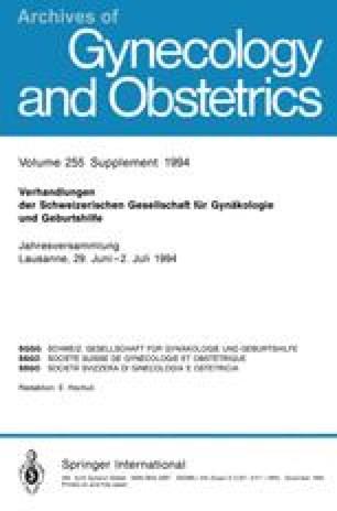 Verhandlungen der Schweizerischen Gesellschaft für Gynäkologie und Geburtshilfe