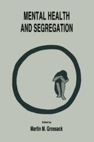 Mental Health and Segregation