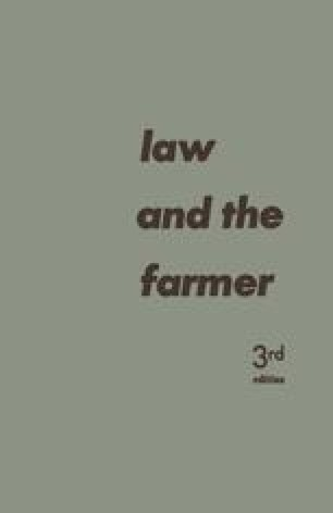 Law and the Farmer