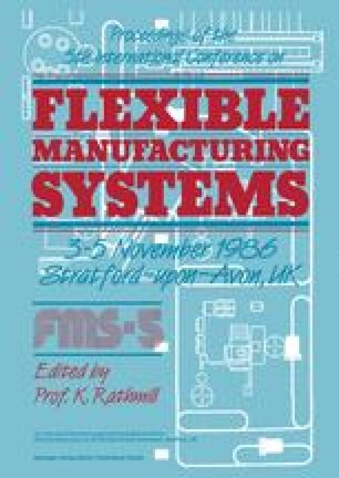Proceedings of the 5th International Conference on Flexible Manufacturing Systems