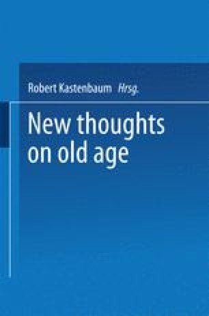 New Thoughts on Old Age