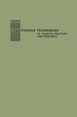 Conditioning Techniques in Clinical Practice and Research