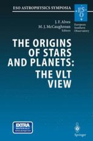 The Origins of Stars and Planets: The VLT View