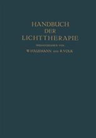 Handbuch der Lichttherapie