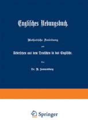 Englisches Uebungsbuch
