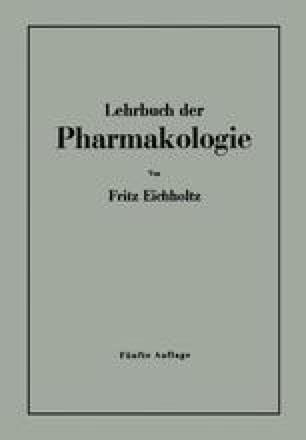 Lehrbuch der Pharmakologie im Rahmen einer allgemeinen Krankheitslehre für praktische Ärzte und Studierende