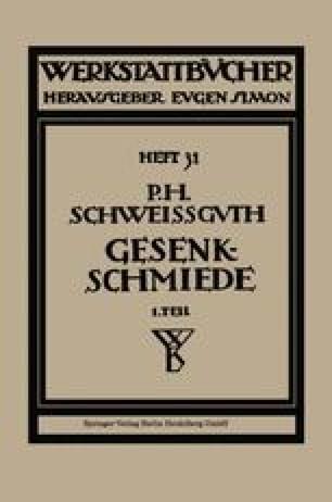 Gesenkschmiede