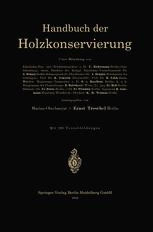 Handbuch der Holzkonservierung