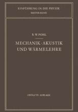 Mechanik · Akustik und Wärmelehre