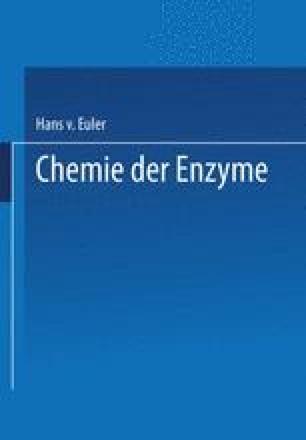Chemie der Enzyme