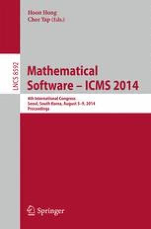 Mathematical Software – ICMS 2014