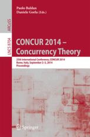 CONCUR 2014 – Concurrency Theory