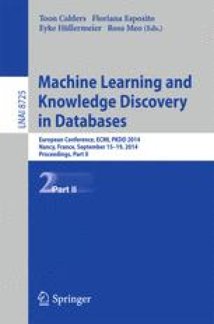 Machine Learning and Knowledge Discovery in Databases