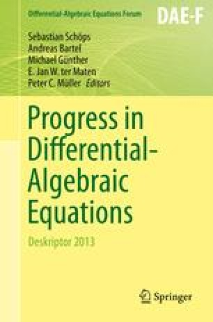 Progress in Differential-Algebraic Equations