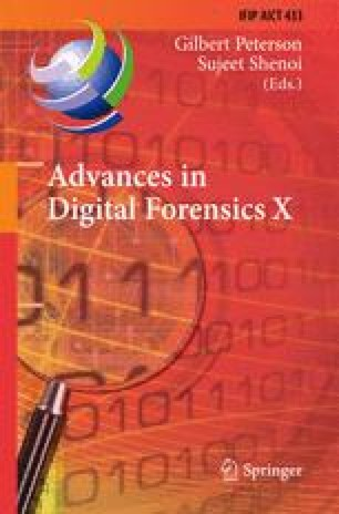 Advances in Digital Forensics X