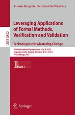 Leveraging Applications of Formal Methods, Verification and Validation. Technologies for Mastering Change