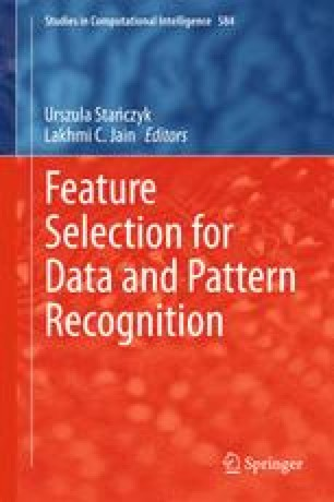 Feature Selection for Data and Pattern Recognition